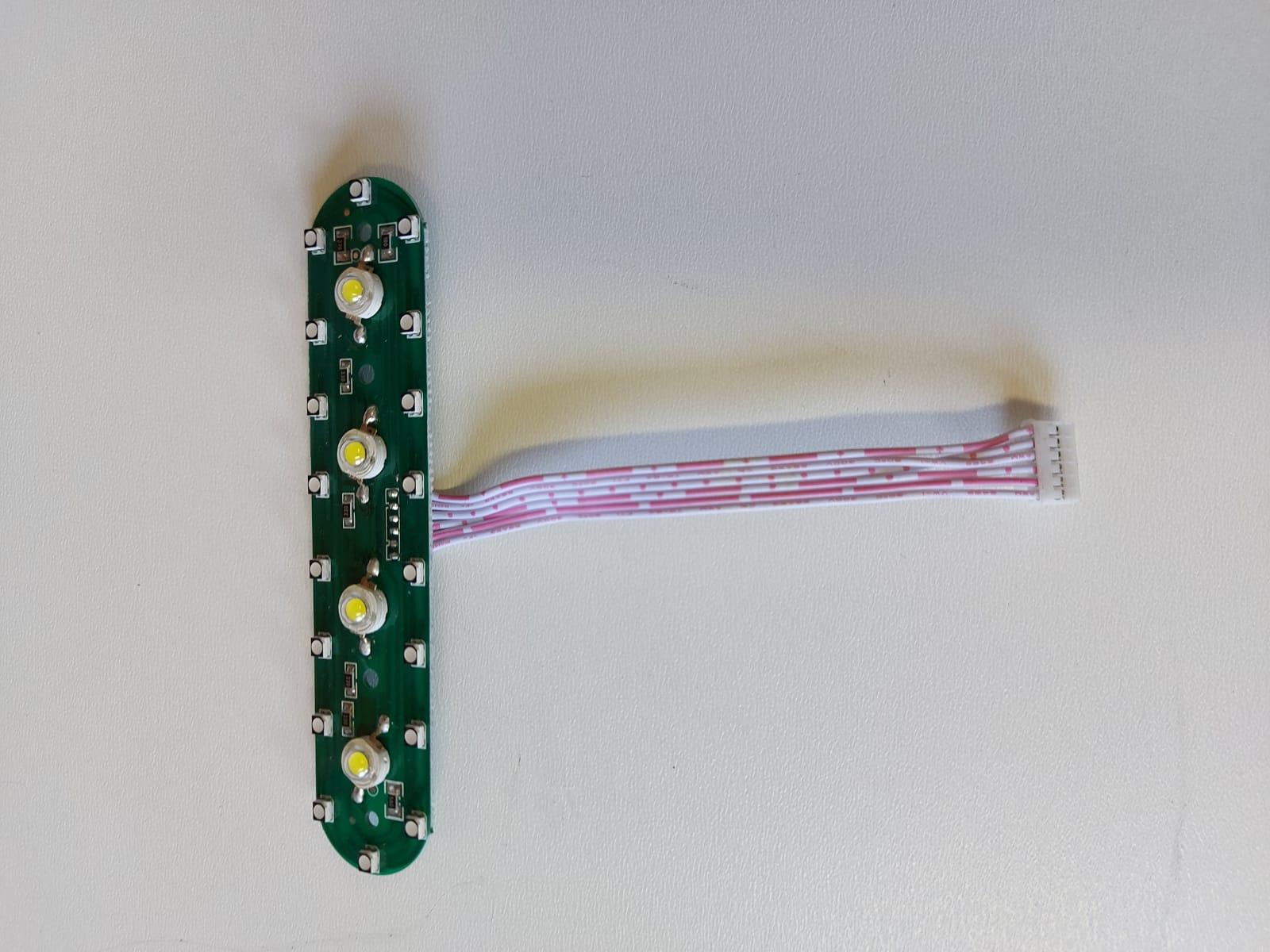 Přední LED světla pro modely koloběžek CORY RACE / CORY SA